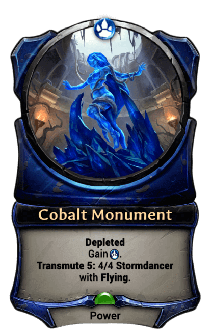 Card image for Cobalt Monument