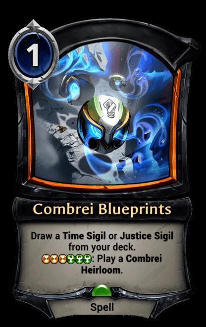 Card image for Combrei Blueprints