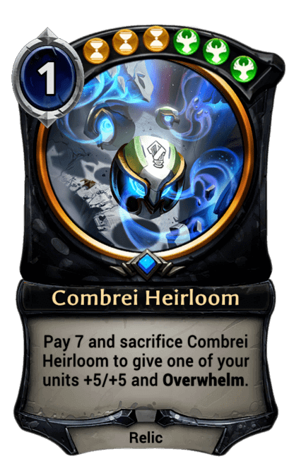 Card image for Combrei Heirloom