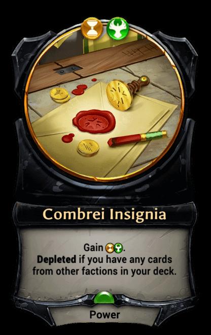 Card image for Combrei Insignia