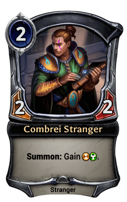 Card image for Combrei Stranger