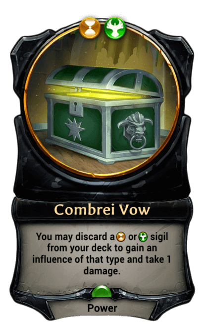 Card image for Combrei Vow