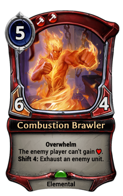 Card image for Combustion Brawler