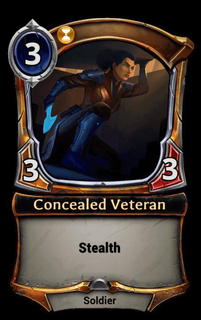 Card image for Concealed Veteran
