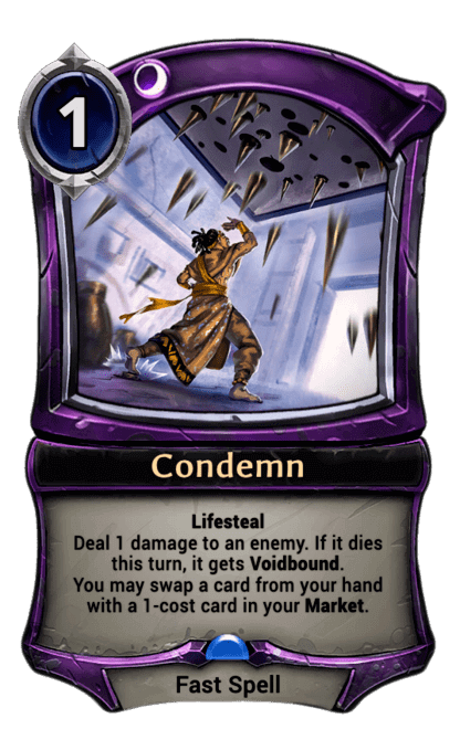 Card image for Condemn