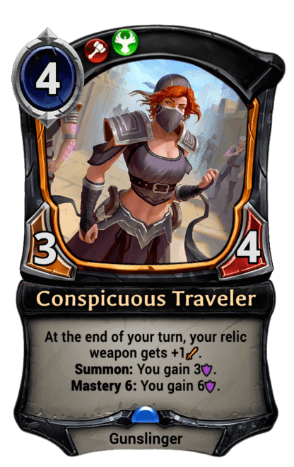 Card image for Conspicuous Traveler