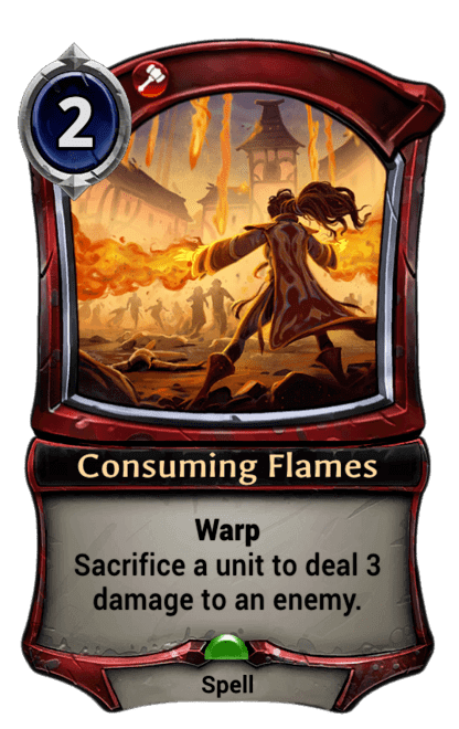 Card image for Consuming Flames