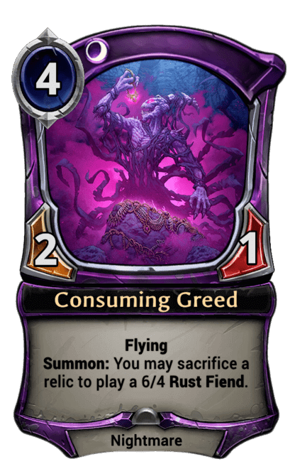 Card image for Consuming Greed