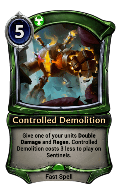 Card image for Controlled Demolition