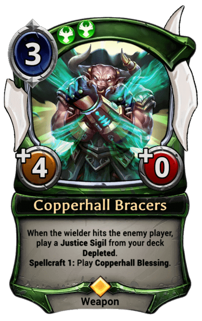Card image for Copperhall Bracers