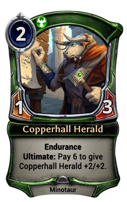 Card image for Copperhall Herald