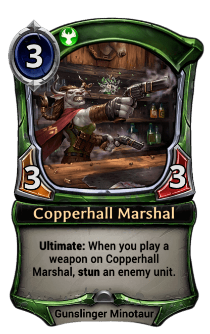 Card image for Copperhall Marshal