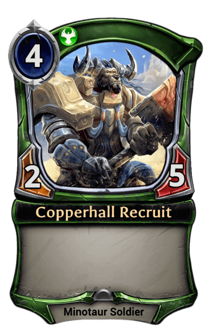 Card image for Copperhall Recruit