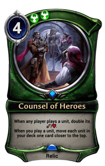 Card image for Counsel of Heroes