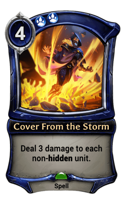 Card image for Cover From the Storm