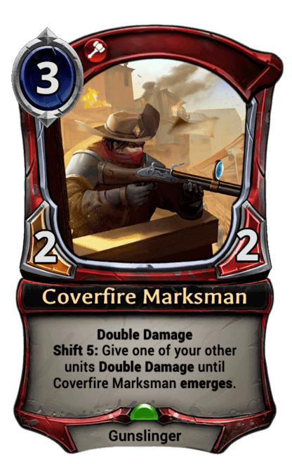 Card image for Coverfire Marksman