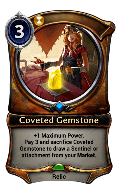 Card image for Coveted Gemstone