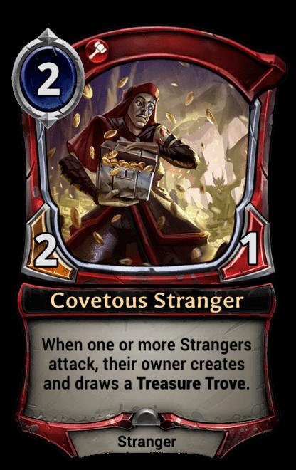 Card image for Covetous Stranger