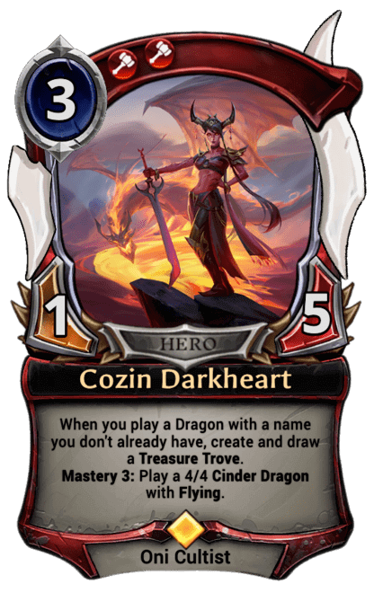 Card image for Cozin Darkheart