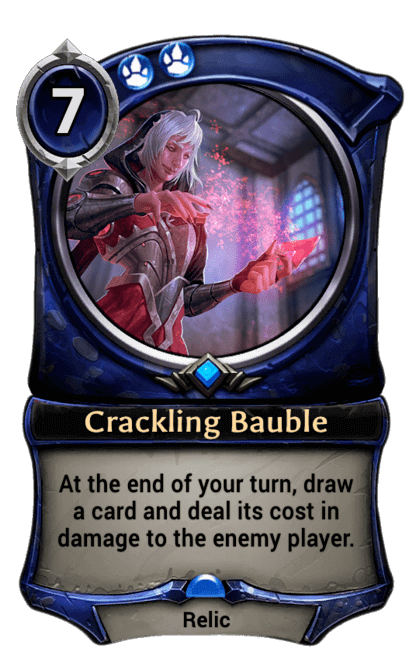 Card image for Crackling Bauble