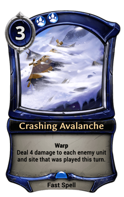 Card image for Crashing Avalanche