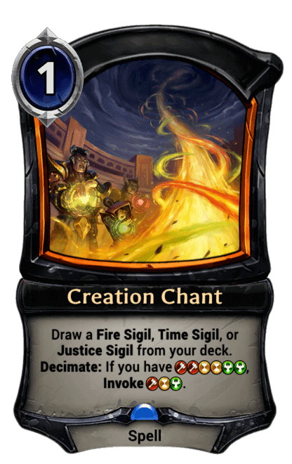 Card image for Creation Chant