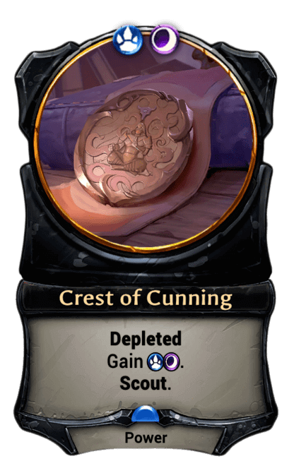Card image for Crest of Cunning