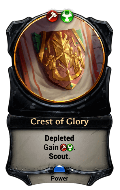 Card image for Crest of Glory