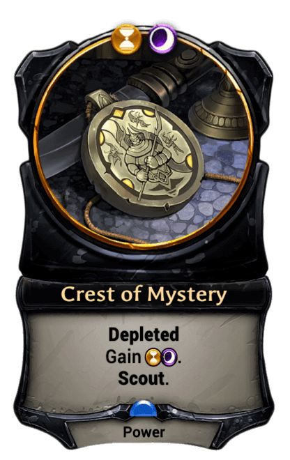 Card image for Crest of Mystery