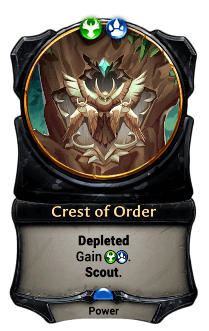 Card image for Crest of Order