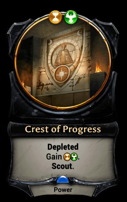 Card image for Crest of Progress