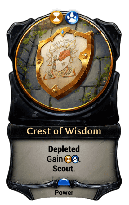 Card image for Crest of Wisdom