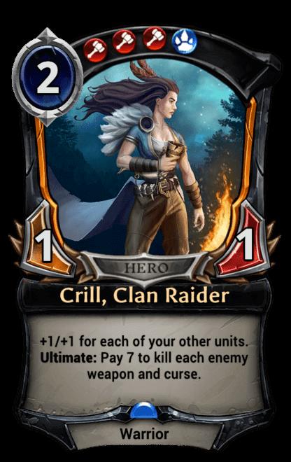 Card image for Crill, Clan Raider
