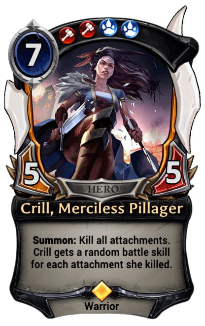 Card image for Crill, Merciless Pillager