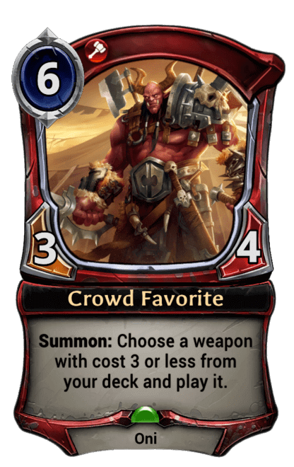 Card image for Crowd Favorite