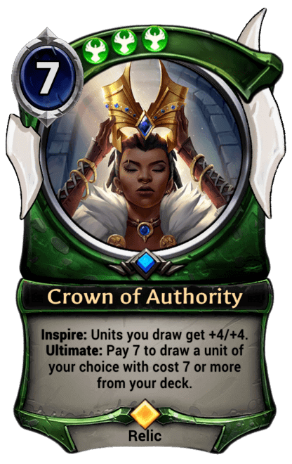 Card image for Crown of Authority