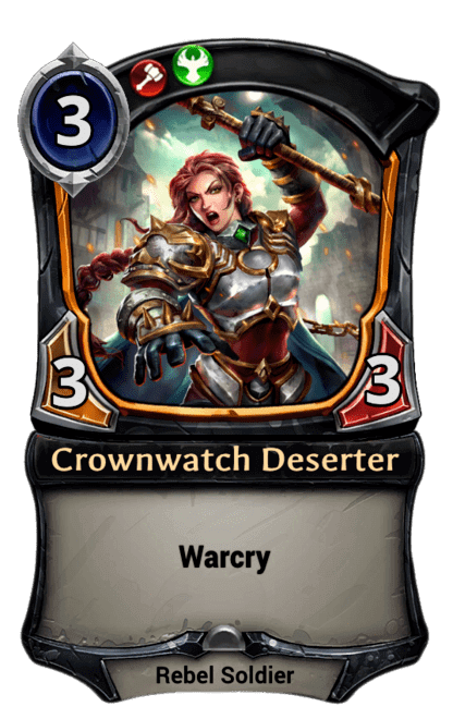 Card image for Crownwatch Deserter