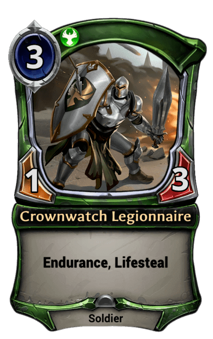 Card image for Crownwatch Legionnaire