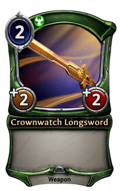Card image for Crownwatch Longsword