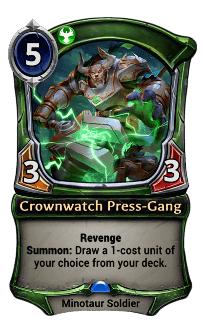 Card image for Crownwatch Press-Gang