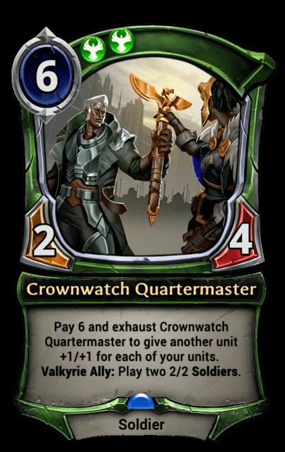 Card image for Crownwatch Quartermaster