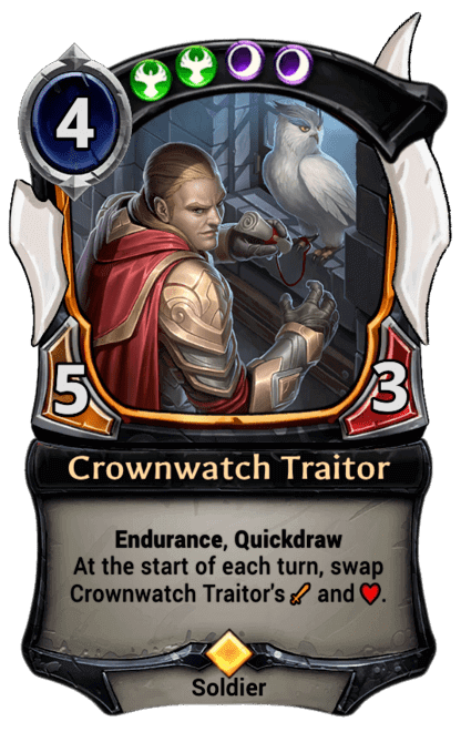 Card image for Crownwatch Traitor