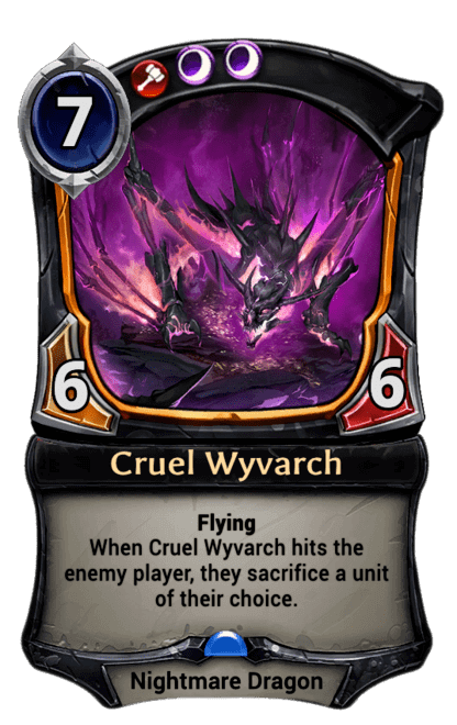 Card image for Cruel Wyvarch
