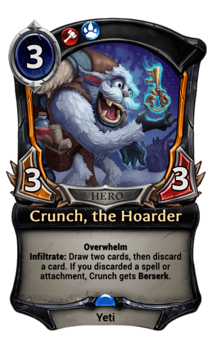 Card image for Crunch, the Hoarder