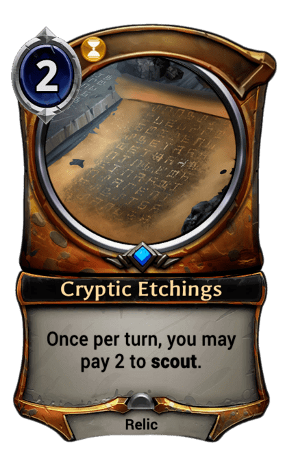 Card image for Cryptic Etchings