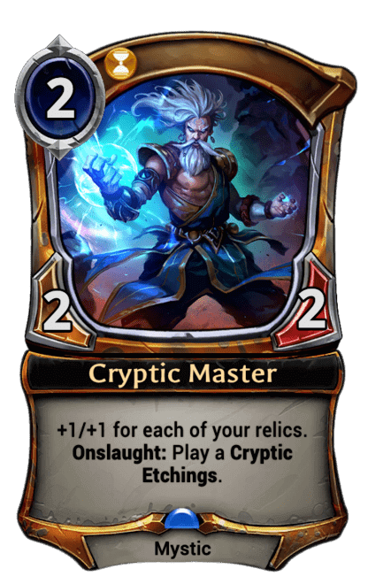 Card image for Cryptic Master