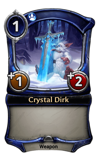 Card image for Crystal Dirk