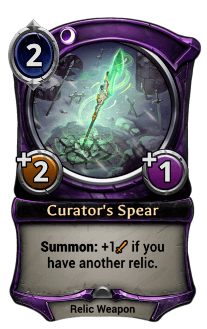 Card image for Curator's Spear