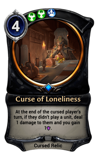 Card image for Curse of Loneliness