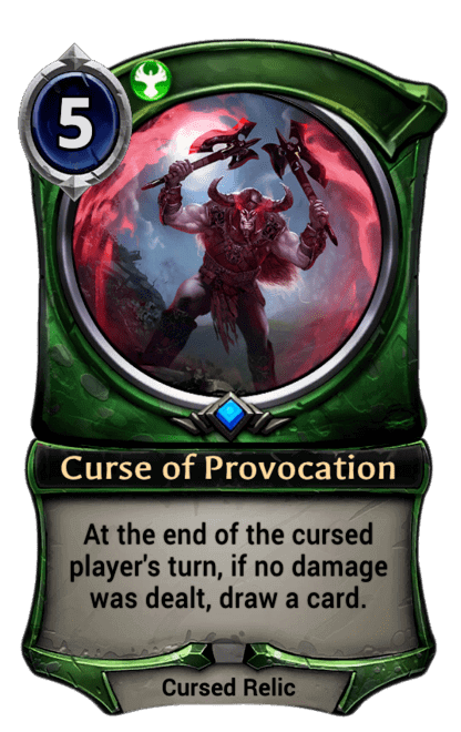 Card image for Curse of Provocation